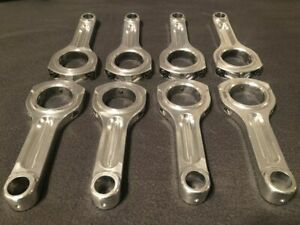 Grp Aluminum Sbc Connecting Rods With Arp Bolts