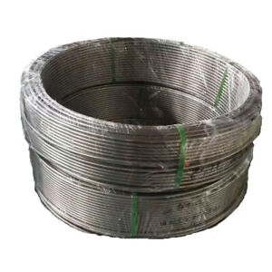 1 2 3 5m Long Coil Tube Instrument Pipe Hollow Stainless Steel Duct 6 35x4 35