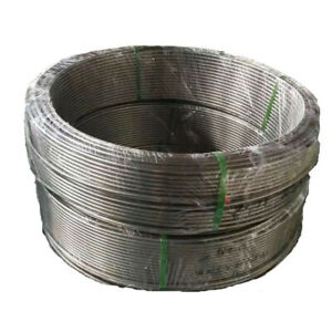 1 2 3m Long Coil Tube Instrument Pipe Hollow Stainless Steel Duct 12 7x10 92