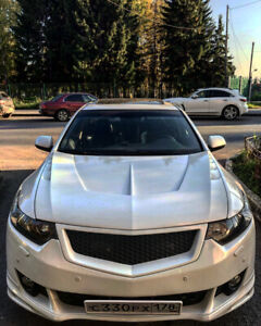 Front Sport Grille Honeycomb Mesh For Acura Tsx Cu2 Cw2 2008 2010