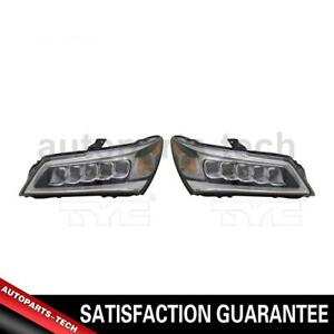 2x Tyc Left Right Headlight Assembly For Acura Mdx 2014 2016