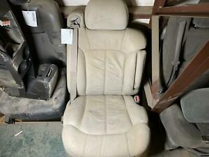 2001 Tahoe Passenger Front Leather Power Bucket Seat An3 Ag2 Shale Pewter 922