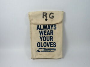 Salisbury Gb112 Canvas Bag For Lineman Gloves Used