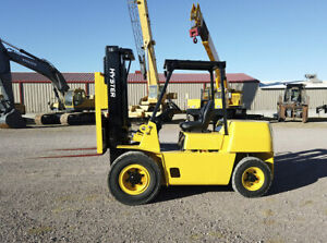 Hyster H400xl5 Forklift Capacity 8 000 Lbs Hours 646