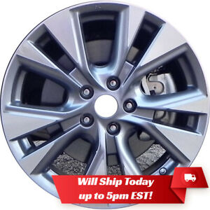 New 18 Machine Grey Alloy Wheel Rim For 2015 2016 2017 2018 2019 Nissan Murano