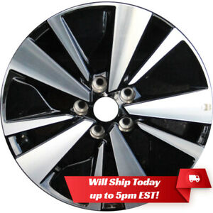 New 17 17x7 5 Machined Black Alloy Wheel Rim For 2019 2020 Nissan Altima
