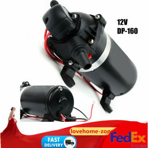 12v Dc Water Pressure Diaphragm Pump 160 Psi 11 Bar Self Priming Sprayer Pump