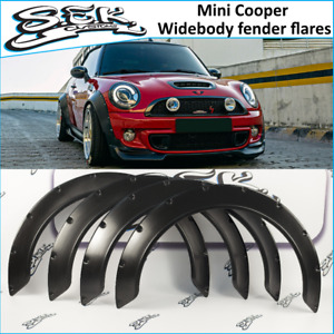 Mini Cooper Wide Body Fender Flares Set Wheel Arches 70mm Fit Mini Cooper S
