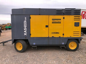 2007 Atlas Copco Xas 1600 Cfm Cd6 Towable Air Compressor