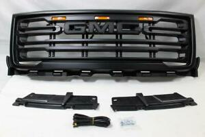 Front Bumper Grill Fit For 2011 2012 2013 2014 Gmc Sierra 2500 Hd 3500 Hd Grille