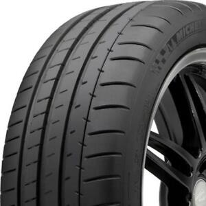 4 New P335 25zr20 99y Michelin Pilot Super Sport 335 25 20 Tires