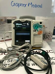 Philips Heartstart Mrx 3 Lead aed pacing Biomed Certified With 1 Year Warranty