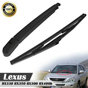Rear Wiper Arm Blade Windshield For Lexus Rx330 Rx350 Rx300 New