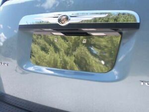 Stainless License Plate Bezel 1pc Fits Chrysler Town Country