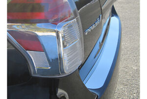 Stainless Steel Rear Bumper Trim 1pc Fits 2012 2017 Toyota Prius V