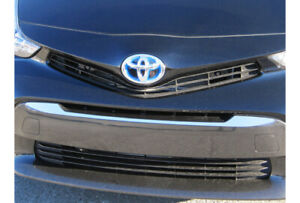 Stainless Steel Grille Accent 1pc Fits 2012 2017 Toyota Prius V