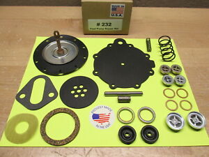1955 To 1957 Lincoln Double Action Modern Fuel Pump Kit For Modern Unleaded Fuel