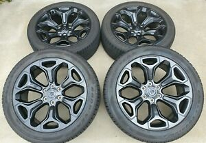 22 Oem Black Dodge Ram 1500 2019 2020 Limited Laramie Wheels Rims Tires 2685