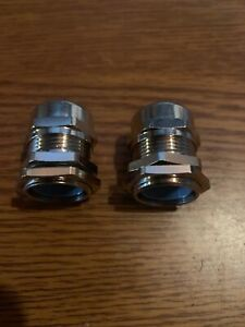 2 New Mencom Cable Gland Mcg 16 Lot Of Two