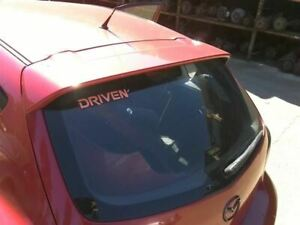 Trunk hatch tailgate Hatchback With Spoiler Fits 04 06 Mazda 3 259046