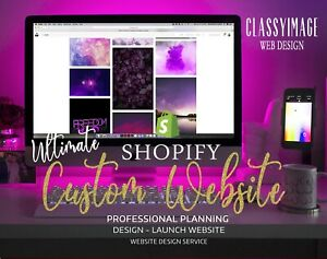 Ultimate Shopify Website Custom Design Unlimited Products Logo Seo