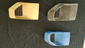 1970 1981 Trans Am Driver Passenger Fender Air Extractor Side Louver Scoop Vents