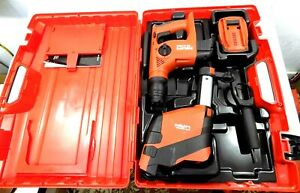 Hilti Te 4 a22 Rotary Hammer Drill W dust Collector In Case W battery
