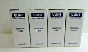Uline Tape Dispenser Industrial H 596 Lot Of 4