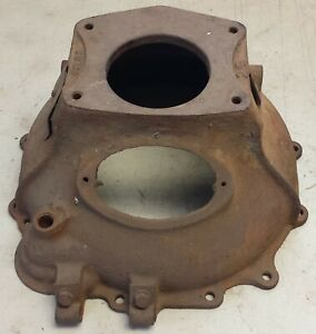 Original Willys Early 2wd Station Wagon Jeepster 4cyl Engine Bell Housing G503