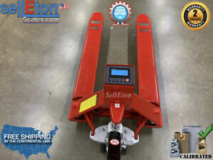Op 918 5000 Ntep Pallet Jack Scale 5 000 Lb Heavy Duty Legal For Trade
