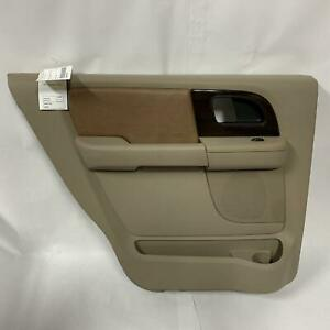 2005 Ford Expedition King Ranch Driver Left Rear Interior Door Trim Panel