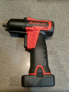 Snap On Tools Ct761a 3 8 Drive 14 4v Cordless Impact With Battery Charger Bag