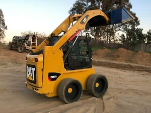 2013 Cat 236b3 Wheel Smooth Tire Skid Steer Loader Skidsteer