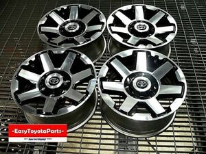 4runner Trail Edition 17 Wheels Set Of 4 Delivered To Oak Wood Il 61858
