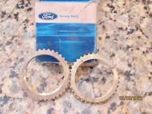1967 72 Mustang Shelby Gt500 Ford Toploader 4 Speed Blocking Rings Nos 428
