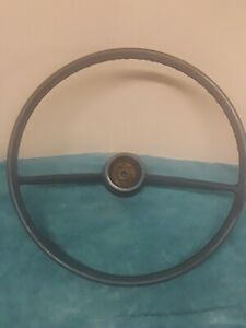 1965 69 Oem Blue Chevy Corvair Monza Steering Wheel