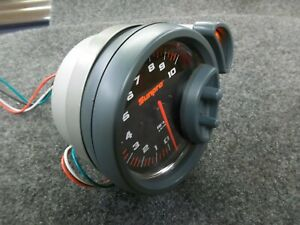 5 Sunpro Tacometer Sport St Cp7900 With Shift Light
