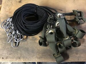Tie Cords For Poultry Chickens 12 6ft Nylon Hitches Tiecords String Walk