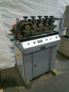 Italian Variable Speed Metal Tube Forming Machine Gold Silver Brass