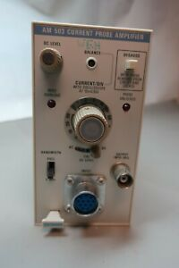 Vintage Tektronix Am 503 Current Probe Amplifier For Parts Only
