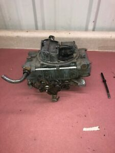 Used Holley 600 Cfm Carburetor 1850 Trans Am Firebird Formula Gto Lemans Camaro
