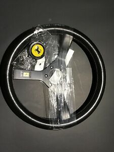 Mint Condition 350mm Rare Vintage Steering Wheel Ferrari Made By Momo Kba7002