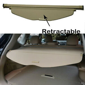 Canvas Inner Rear Boot Trunk Shield Cargo Cover For 2014 2020 Nissan Rogue Sv