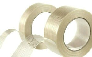 Fiberglass Filament Reinforced Tape 3 4 1 2 X 60 Yards Strapping Packaging