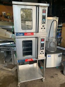 Duke Double Stack Commercial Half size Electric Convection Oven 1 Or 3 Phase