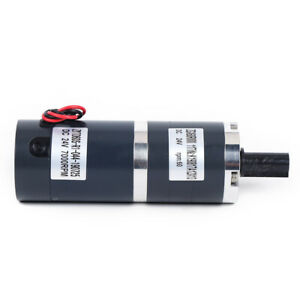 Dc12v 24v 12mm 60mm Dia Permanent Magnet Brush Planetary Electric Gear Motor 8w