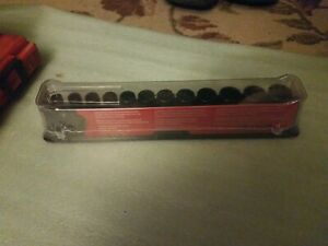 New Sealed Snap On 3 8 Metric Semi Deep Impact Socket Set 8 19 212imfmsya