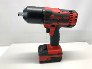 Snap On Ct8850 18v 1 2 Drive Cordless Monsterlithium Impact Wrench With Battery