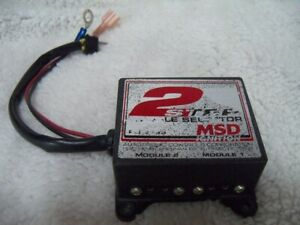 Msd Ignition Two 2 Step Module Selector 8739 Free Shipping