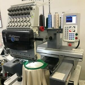 Used Commercial Embroidery Machine Gs1501